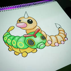 caterpie and weedle