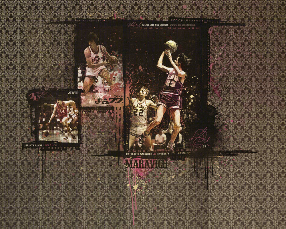 Calendario 1926.Calendario Nba Vintage Abril By Hopedesigns On Deviantart