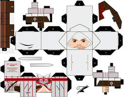 Ezio Cubeecraft by kociok1