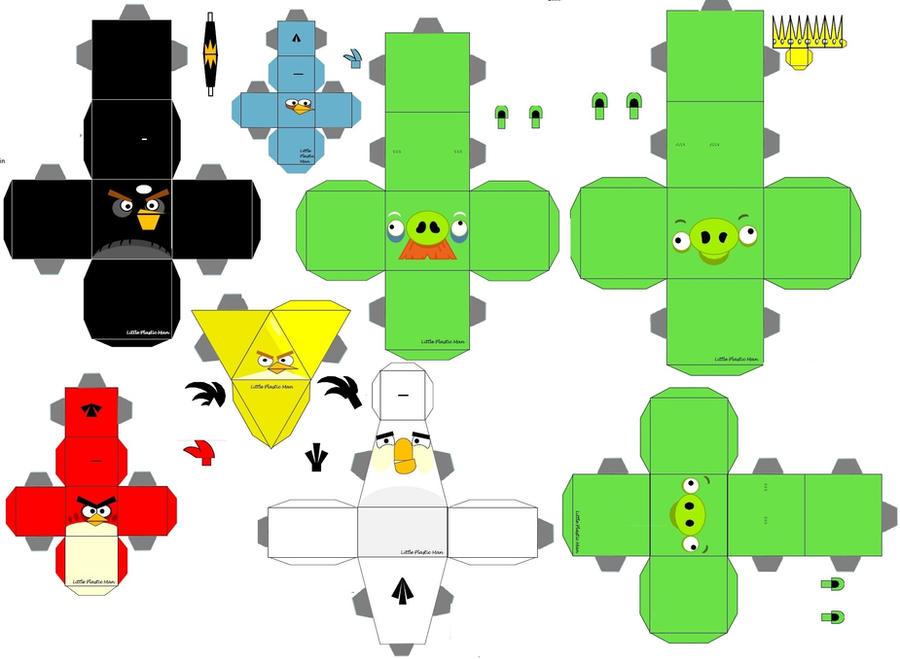 Angry Birds Cubeecraft by kociok1