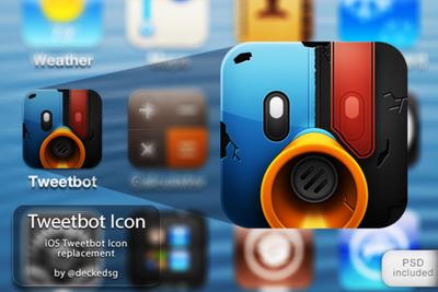 Tweetbot Icon by deckedsg