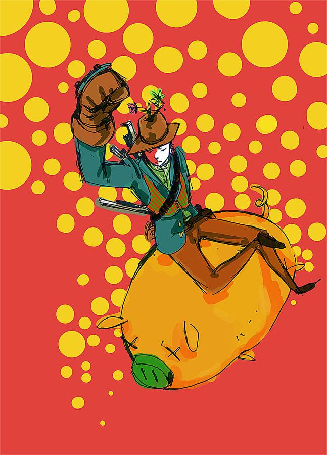 Pigboy by monkey-hero