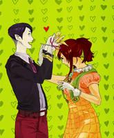 Arita Shion and Tute
