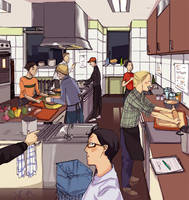 Yo, yo in da kitchen by monkey-hero