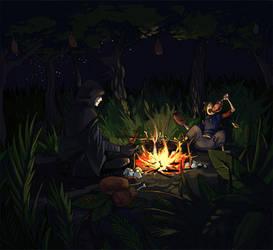 Resting -Shardglass commission by monkey-hero