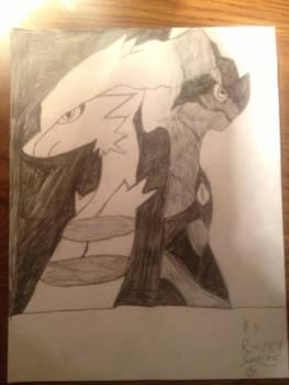 Reshiram and Zekrom sketch