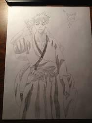 Ichigo Kurosaki sketch