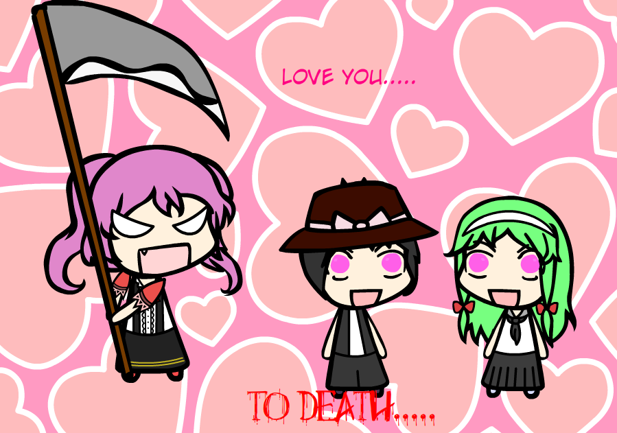Death Love by MegaGundamMan