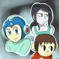 Smash Newcomers by MegaGundamMan