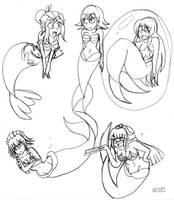 6 sketches 01 by MegaGundamMan