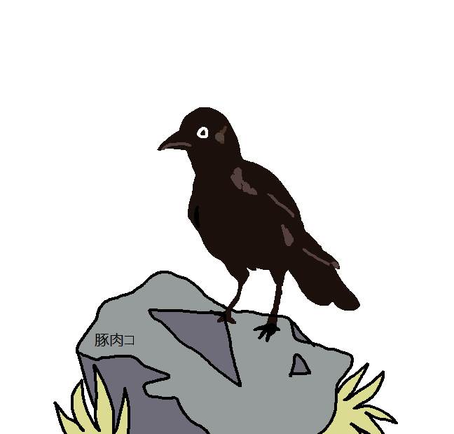 Bird And Boulder by porkko