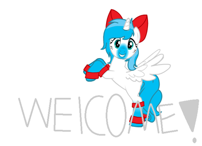 Welcome! by HopelovehappinessAJ