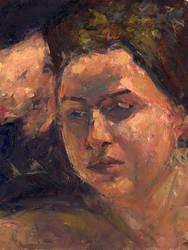 100405 - Portrait Painting by RoboChandler