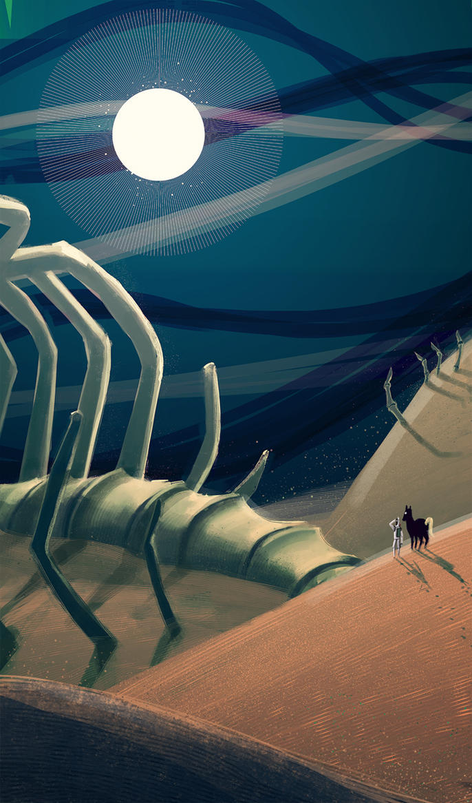 The Sandgiants of Space by RoboChandler