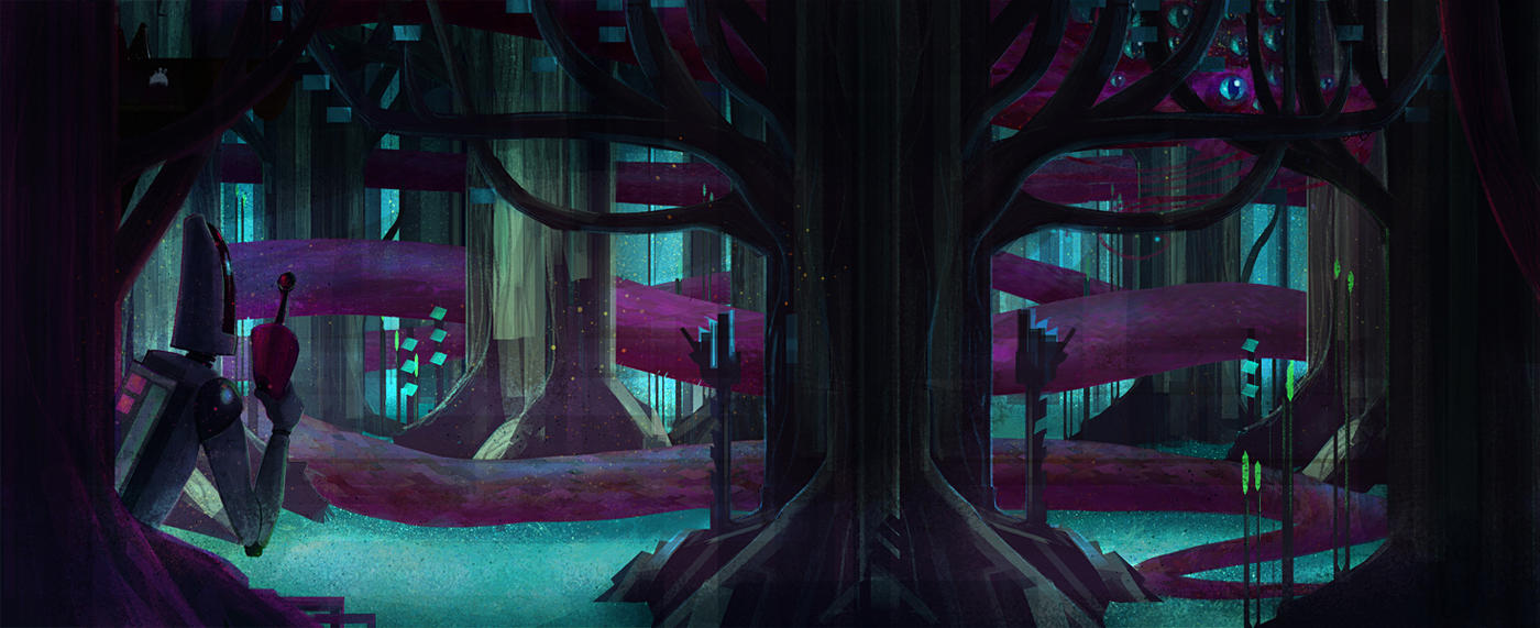 THE SPACEFOREST OF MYSTERY by RoboChandler