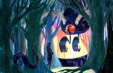 Stamp Forest by RoboChandler
