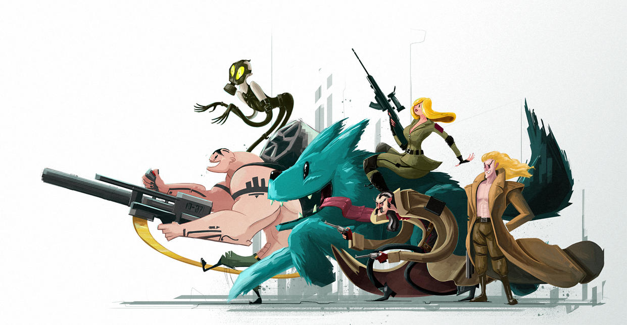 130208 foxhound by robochandler on deviantart - Foxhound metal gear wallpaper ...