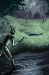 140123 Spaceman by RoboChandler
