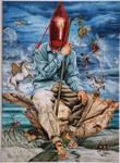 water colour art by lituhayu
