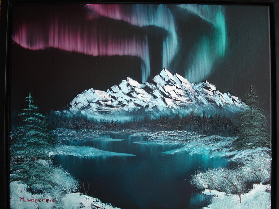Northern Lights by Martenator