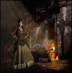 Steampunk by OhnehandsLady