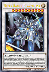 Hyper Raizer Heavyburst by Nikoness by MasterRa