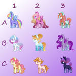 Pony Gacha (Open) by RandomArtistIGuess