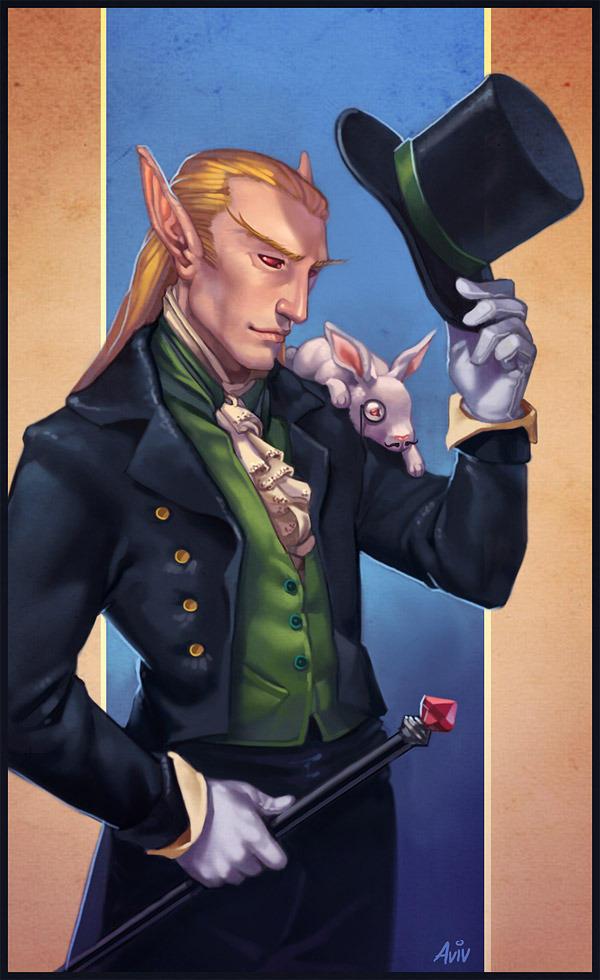 Illusionist and his Familiar