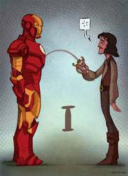 I for Inigo and Ironman by ChateNoire