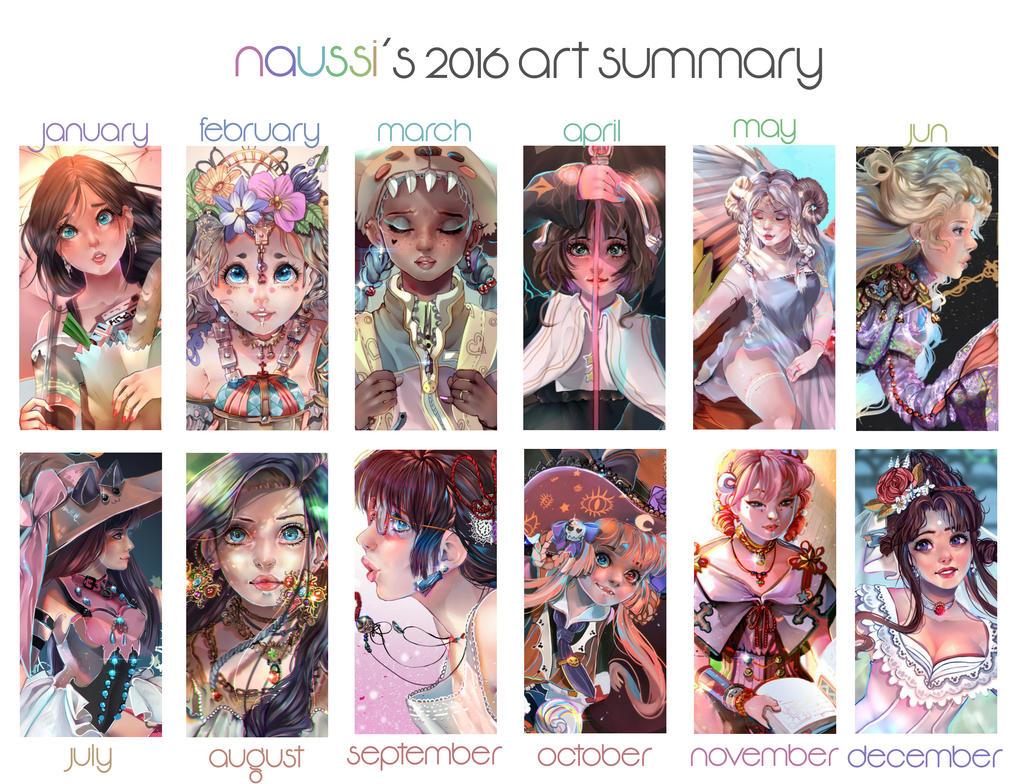 2016 Art Summary by Naussi