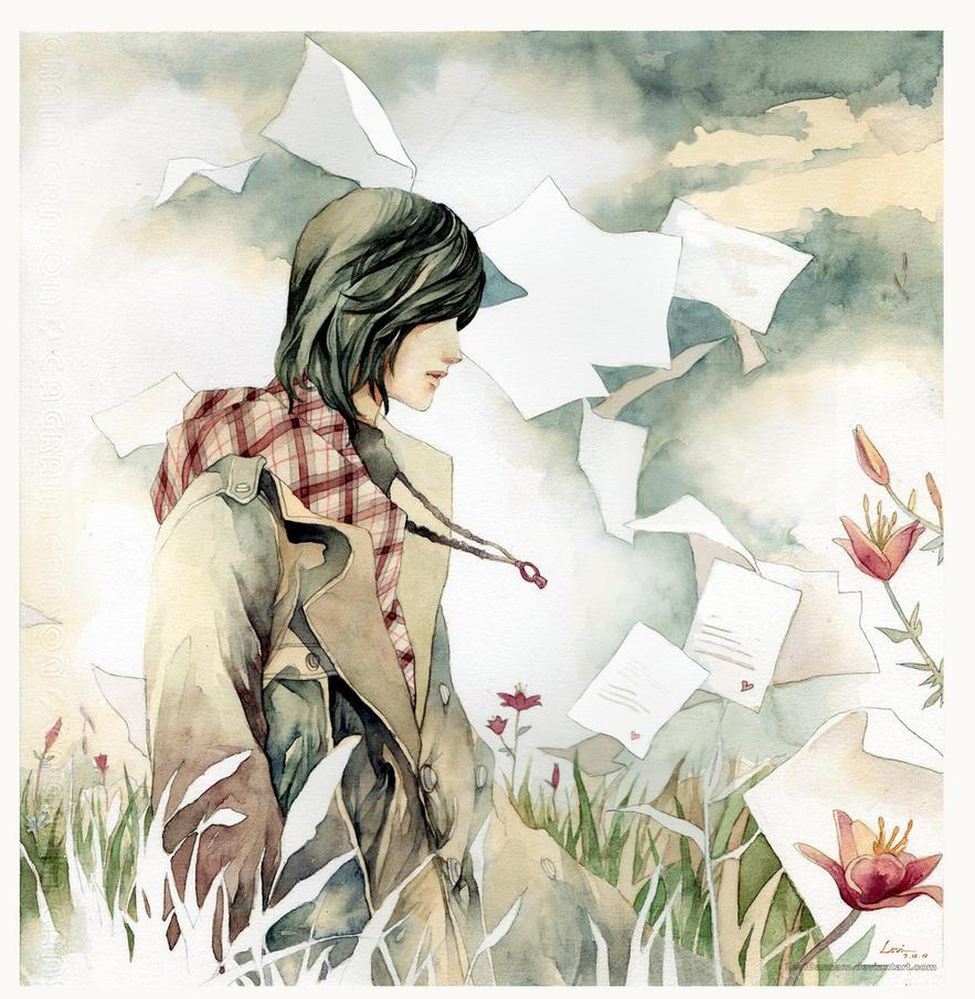 1000 Love letters by LeviDansam