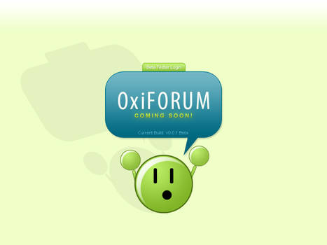OxiFORUM Version 1 Splash