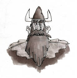 Inktober 2015 - The Viking Lord