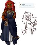 LOZ: Queen Riju for QueenRiju