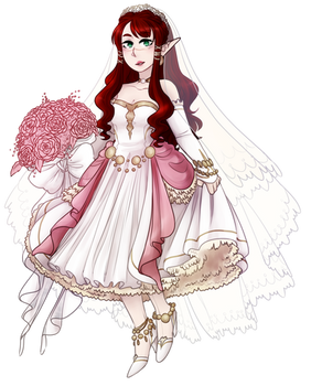 OC: Fairy Bride!