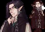 OC: Gideon, Black Cloak