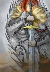 Angel War - OC Created by Drueigan by Rafa-Oliveir4