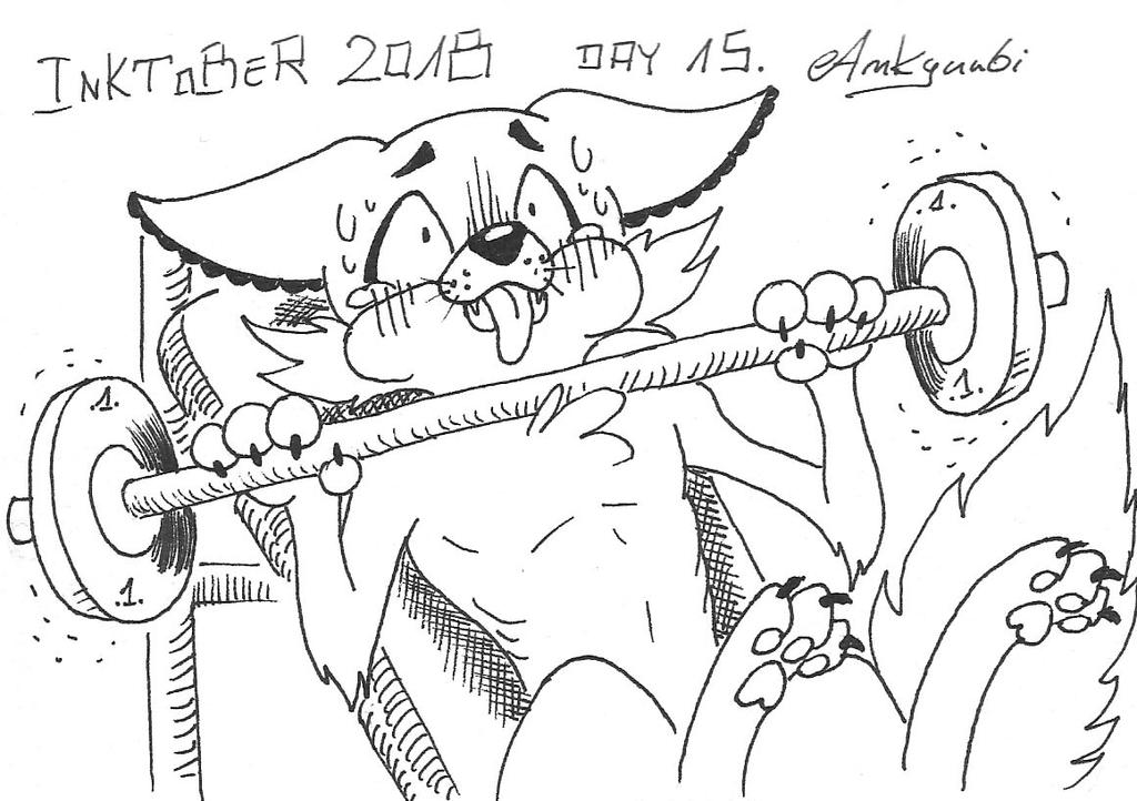 Inktober day 15 by Ankyuubi