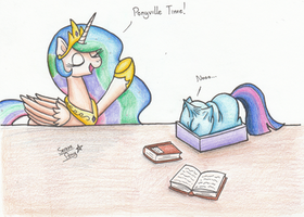 Ponyville time! by SerenePony