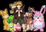 Pokemon/LotR - Samwise Gamgee