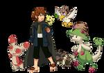 Pokemon/LotR - Peregrin Took
