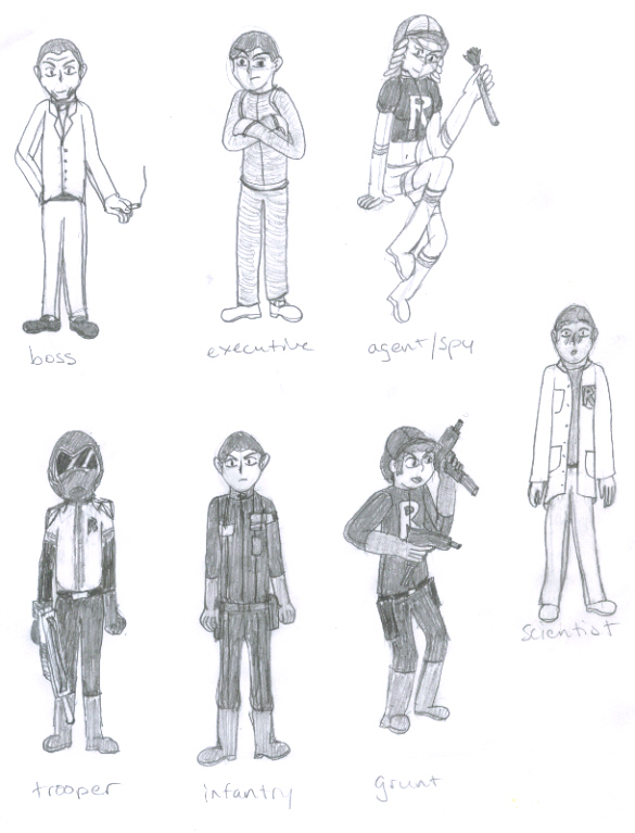 56ecf673e The Ranks of Team Rocket by GamzGuy on DeviantArt