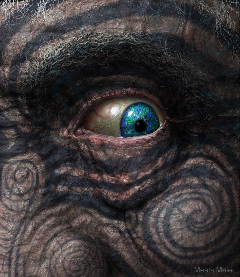 Maori Eye by meats