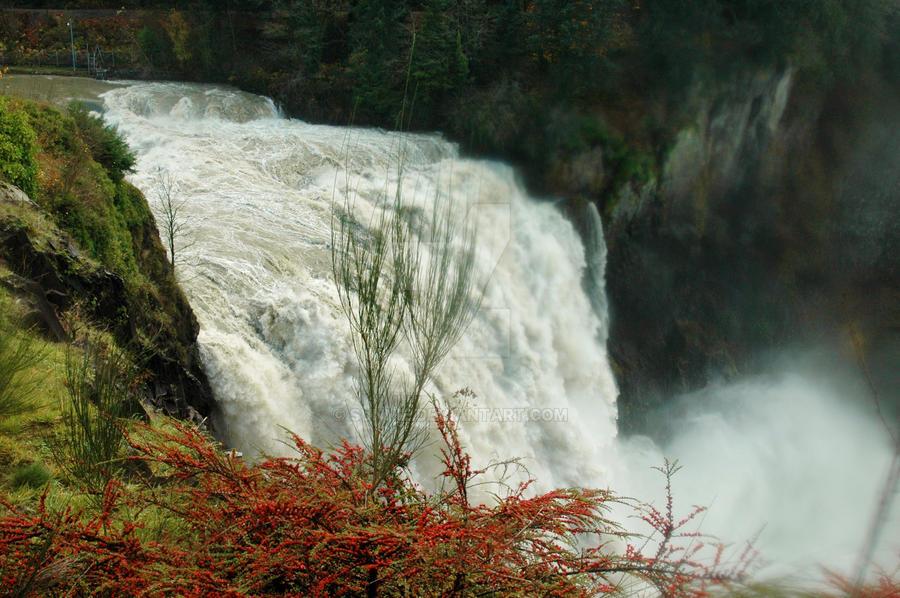 Snoqualmie Falls by sunnie