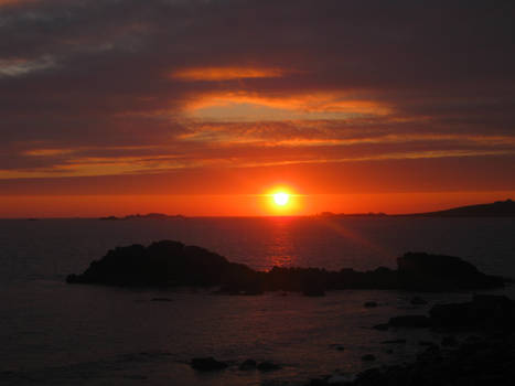 Sunset on Scilly