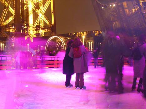 Skating in Paris