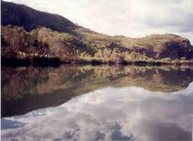 Hills Meet Water by sunnie
