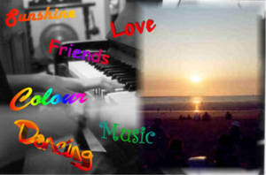 SunshineLoveColourMusic by sunnie
