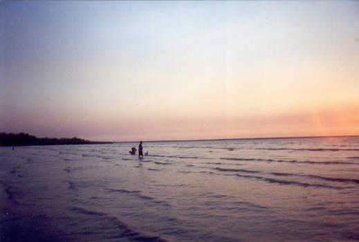 Mindl Beach Sunset