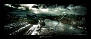 Quayside in the Storm